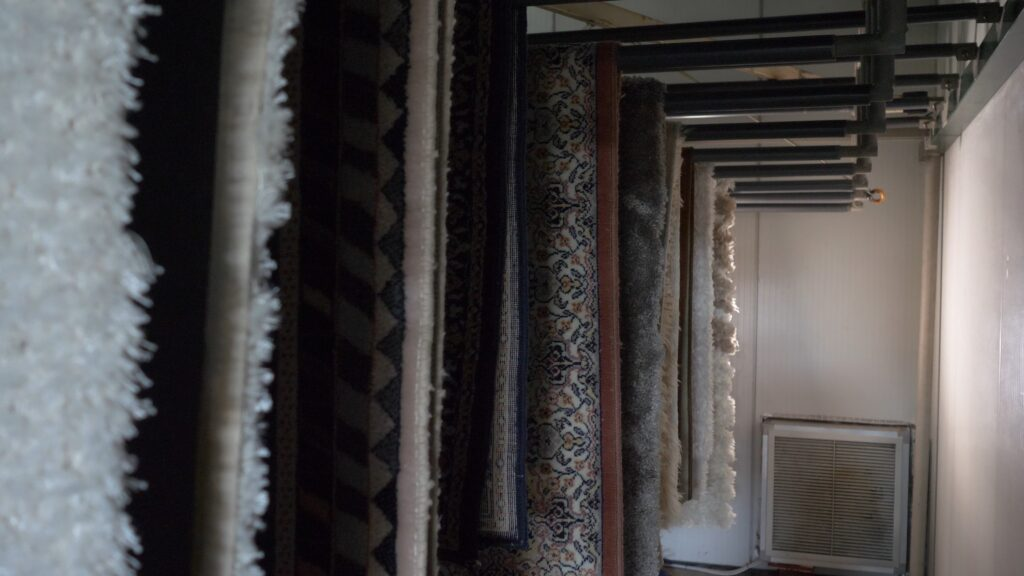 помещение за сушене на килими
